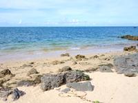 西表島のラティーダのビーチ