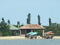 西表島の由布島 - 島自体は果樹園・植物園の観光地