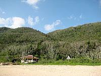 西表島の南風見田の浜の写真
