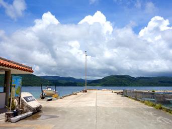 西表島の船浮港