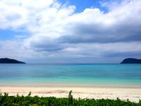 西表島の船浮 イダの浜 - ビーチはかなり広い!