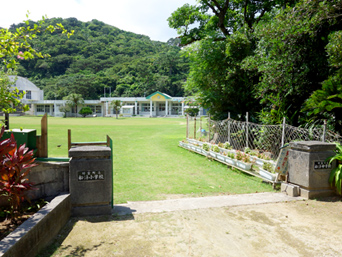 西表島の船浮小中学校「陸の孤島の船浮小中学校です」