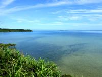 西表島の大見謝ロードパーク - 展望台からの景色