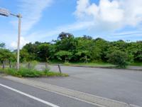 西表島の大見謝ロードパーク - 駐車場はかなり広々
