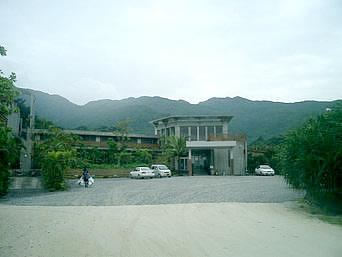 西表島のレストランサミン(パイヌマヤリゾート)「ホテルに併設しているレストランです」