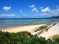 西表島のまるまビーチ