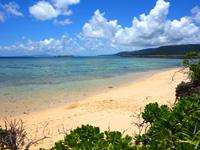 西表島のまるまビーチ - 上原集落からすぐに行けるビーチ