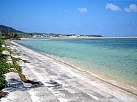 西表島のヒナイビーチ