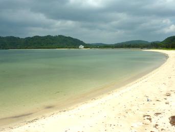 祖内のビーチ/祖内海岸