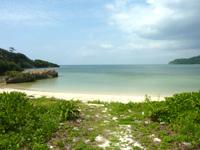 西表島の祖内のビーチ/祖内海岸 - とにかくのんびりできるビーチです