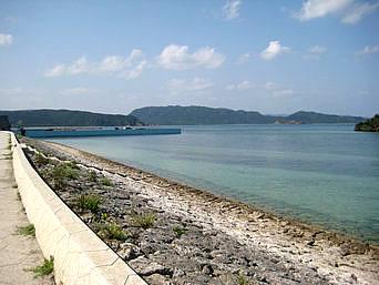 西表島の祖内港