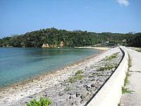 西表島の祖内港 - 港の範囲は結構広いです