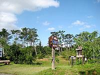西表島の西表熱帯林育種技術園 - 自由に入ることができる展示コーナーも