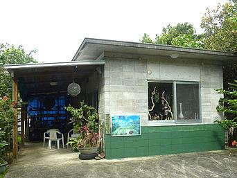 西表島の村のアート屋かなざやん(旧村のそば屋)「見た目は以前と変わらないものの業態が変化」