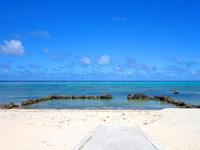 石垣島の白保海岸/白保ビーチ