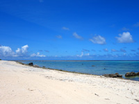 石垣島の白保海岸/白保ビーチ - 砂浜は広いけど海水浴する雰囲気ではない?