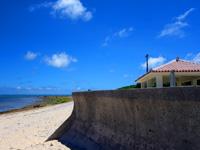 石垣島の白保海岸/白保ビーチ - 最近休憩所ができました!