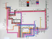 石垣島の石垣島バスターミナル/東運輸 - 石垣島のバス路線図