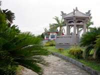 石垣島の唐人墓 - 公園内にはいろいろあります