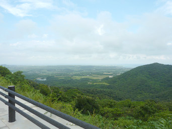 石垣島のパンナ岳/バンナ岳「ようやくスカイラインが開通しました」