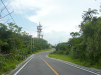 石垣島のパンナ岳/バンナ岳 - パンナ岳の西と東を繋ぐ重要な道路
