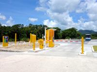 石垣島の川平公園駐車場/売店/グラスボート受付 - 有料駐車場として整備完了