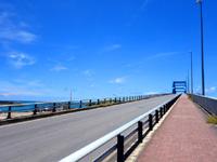 石垣島のサザンゲートブリッジ - 歩いて渡れます