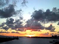 石垣島のサザンゲートブリッジの写真