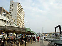 石垣島の旧・離島桟橋の写真