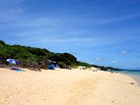 石垣島のサンセットビーチ - ビーチ自体はそんなに広くない