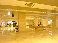 石垣島の新石垣空港国内線ターミナル - 到着ロビー