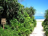 石垣島の明石海岸