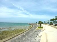 石垣島の八島小学校 護岸 - 護岸整備もバッチリ