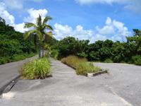 石垣島の大崎ビーチ/屋良部崎南ビーチ - 崎枝半島を周回する道路沿い