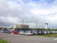 石垣島の石垣島レンタカーステーション - 空港ターミナルには距離は近いも道のりは3倍以上