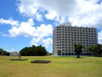 石垣島の舟蔵公園/真喜良公園 - ホテルが広場に隣接してあります