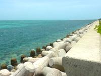 石垣島のドルフィンファンタジー石垣 - 多分、この海域のどこか?