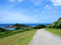 石垣島の川平石崎の道/庭園の写真