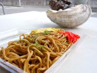 石垣島の狩俣ストア/ミニ食堂 - 焼きそばもボリューム満点
