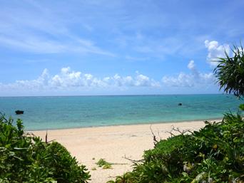 石垣島の船越海岸/フナクヤ浜「船越荘裏にある伊原間東岸のビーチ」