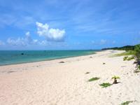 石垣島の船越海岸/フナクヤ浜 - ビーチは広く明石海岸に似ている