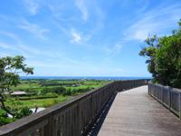石垣島のパンナ岳公園東/バンナ岳公園東 - 公園南側も一周できる道があります
