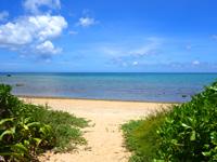 石垣島の平野ビーチ - 夏は穏やかなビーチです