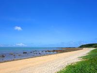 石垣島の平野ビーチ - ビーチはとにかく広い