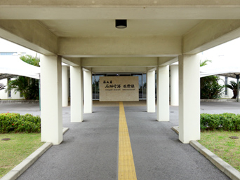 石垣島の新石垣空港国際線ターミナル