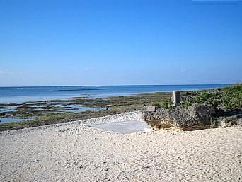マエザトビーチ/天然ビーチ