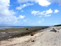 石垣島の多田浜海岸/マエザトビーチ西 - ホテル前じゃないとこうなる