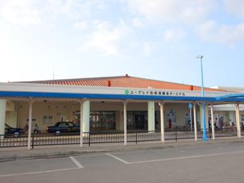 石垣島の石垣港離島ターミナル/新離島桟橋「2007年にオープンしました」