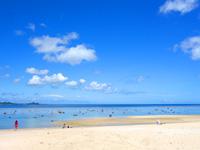 石垣島の米原ビーチ 川平側