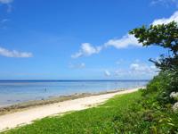 石垣島の米原ビーチ キャンプ場側の写真